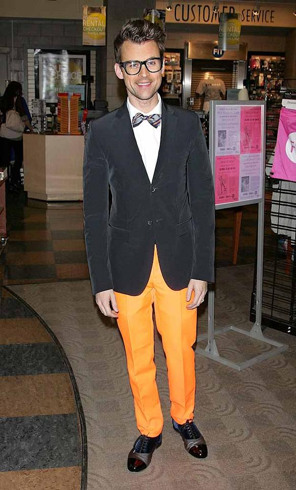 "Dear Brad Goreski, it may be a ""Brad, Brad World"" in your head, but, in reality, it isn't. And, truth be told, this outfit would even look ludicrous on Halloween. xoxo, omg! (3/7/2012)"