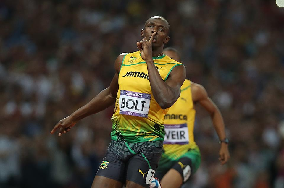 Usian Bolt could take on Tyreek Hill in a race. (Photo by Ian MacNicol/Getty Images)