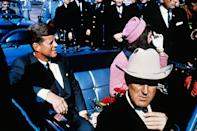 """<p>There are a number of conspiracy theories about President Kennedy's death, but one of the most popular is that the government was behind the assassination. Many <a href=""""https://www.townandcountrymag.com/society/politics/a13093037/jfk-assassination-conspiracy-theories/"""" rel=""""nofollow noopener"""" target=""""_blank"""" data-ylk=""""slk:Americans don't believe Lee Harvey Oswald acted alone"""" class=""""link rapid-noclick-resp"""">Americans don't believe Lee Harvey Oswald acted alone</a>, and biographer <a href=""""https://www.nbcnews.com/news/other/inside-job-cia-suspect-some-jfks-killing-f2D11627219"""" rel=""""nofollow noopener"""" target=""""_blank"""" data-ylk=""""slk:Philip Shenon claims"""" class=""""link rapid-noclick-resp"""">Philip Shenon claims</a> that even Bobby Kennedy thought the CIA was responsible for his brother's death at first. </p><p><strong><em>[<a href=""""https://www.popularmechanics.com/science/a30119985/why-people-believe-conspiracy-theories/"""" rel=""""nofollow noopener"""" target=""""_blank"""" data-ylk=""""slk:How You've Been Conditioned to Love Conspiracy Theories"""" class=""""link rapid-noclick-resp"""">How You've Been Conditioned to Love Conspiracy Theories</a>]</em></strong></p>"""