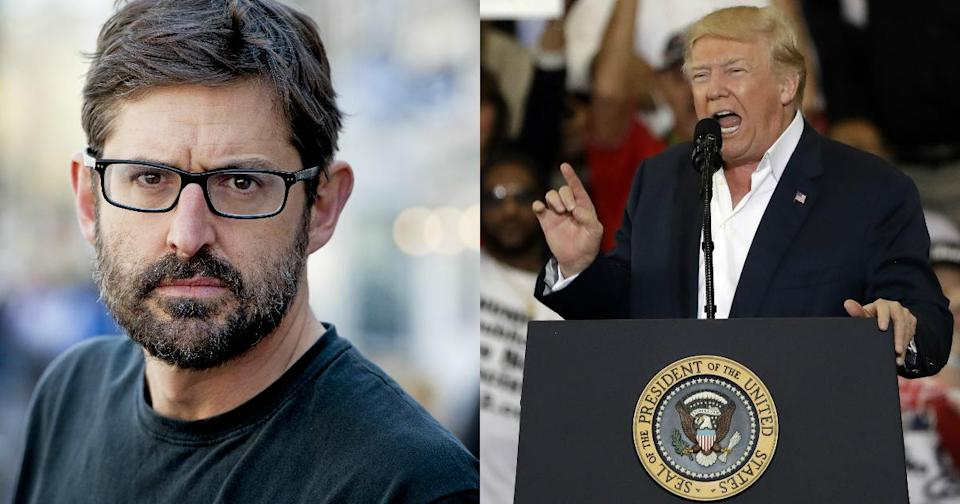 President Donald Trump will be the subject of Louis Theroux's next BBC documentary series (Copyright: Action Press//REX/Shutterstock)