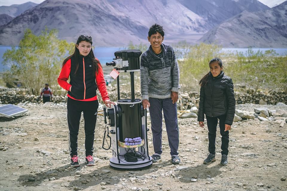 Mountain Homestays has created Astrostays in various villages of Ladakh by installing high-end sophisticated telescopes