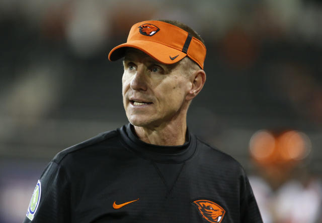 "Oregon State and coach Gary Andersen ""mutually"" agreed to part ways on Monday. (AP)"