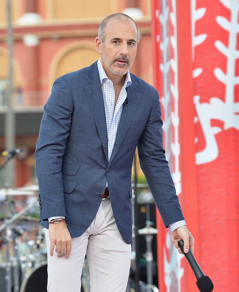 Matt Lauer Apologizes For The Pain I Have Caused Others After