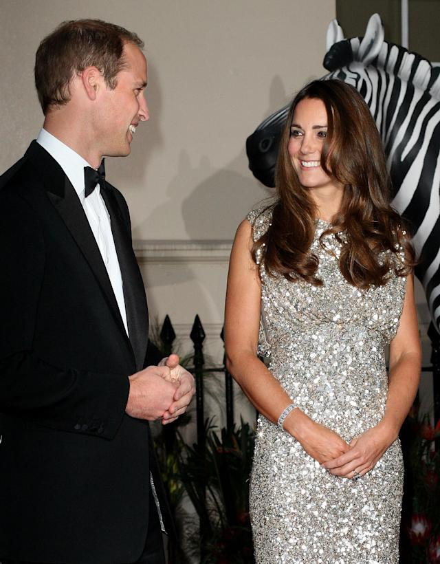 LONDON, ENGLAND - SEPTEMBER 12: Prince William, Duke of Cambridge and Catherine, Duchess of Cambridge attend the Tusk Conservation Awards at The Royal Society on September 12, 2013 in London, England. (Photo by Danny E. Martindale/Getty Images)