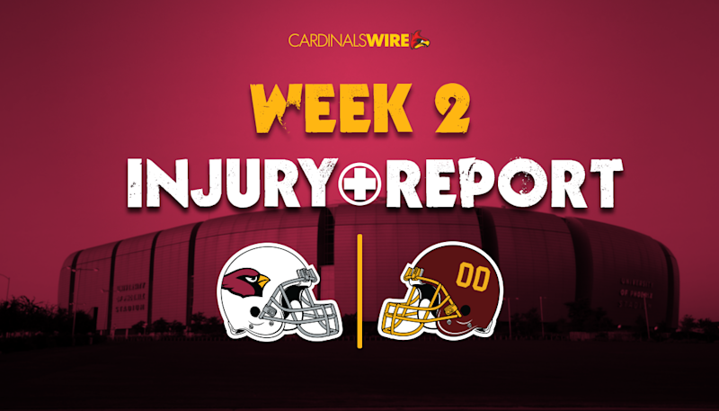 Week 2 final injury report: Maxx Williams, Mason Cole out for Cardinals