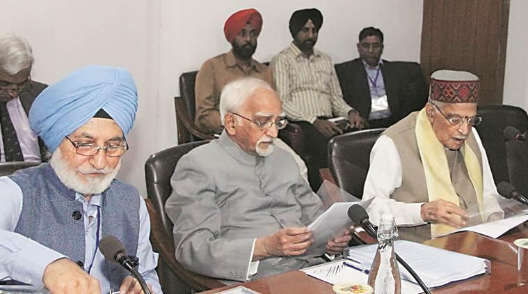 Hamid ansari, ex vice president, hamid ansari on nationalism, hamid ansari on patriotism, guru nanak, Gur nanak brithday, chandigarh, chandigarh news, indian express