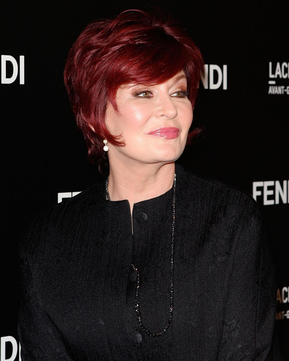 Sharon Osbourne attends the FENDI boutique opening at FENDI Beverly Center Boutique on October 7, 2010 in Los Angeles, California. (Photo by Paul Archuleta/FilmMagic)