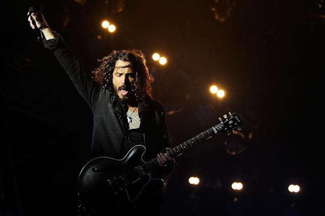 <p>Chris Cornell was the lead vocalist for Soundgarden and Audioslave, as well as the founder and frontman of tribute band Temple of the Dog. He died May 18 by suicide. He was 52.<br> (Photo: Getty Images) </p>