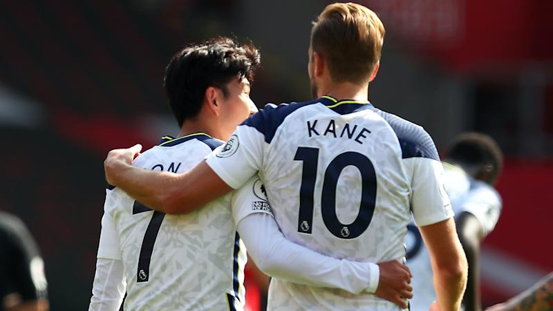 Super Spurs strikers Son Heung-min and Harry Kane keep on scoring