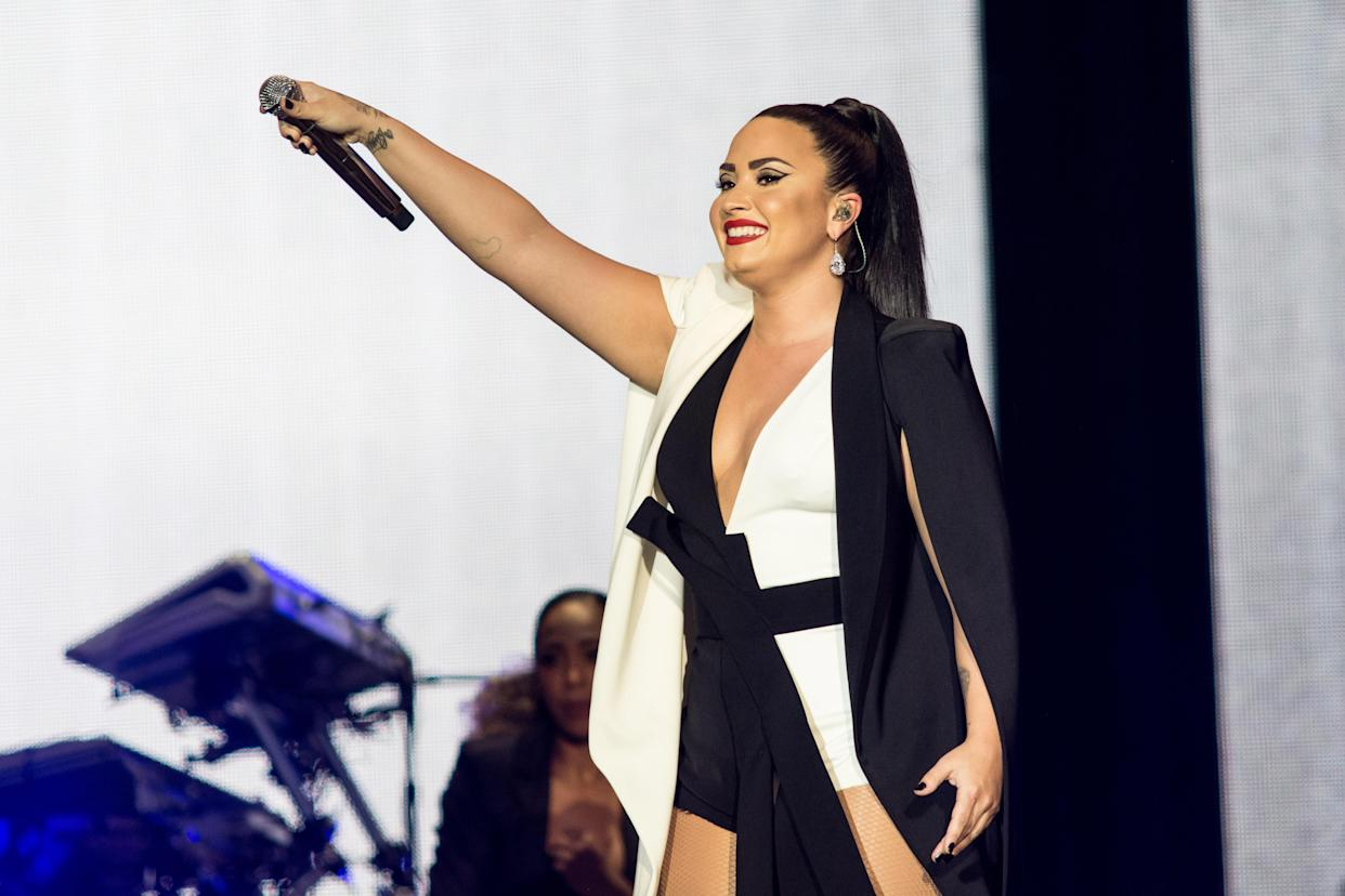 Demi Lovato was treated with a powerful drug called Narcan after a reported drug overdose. (Photo: Getty Images)