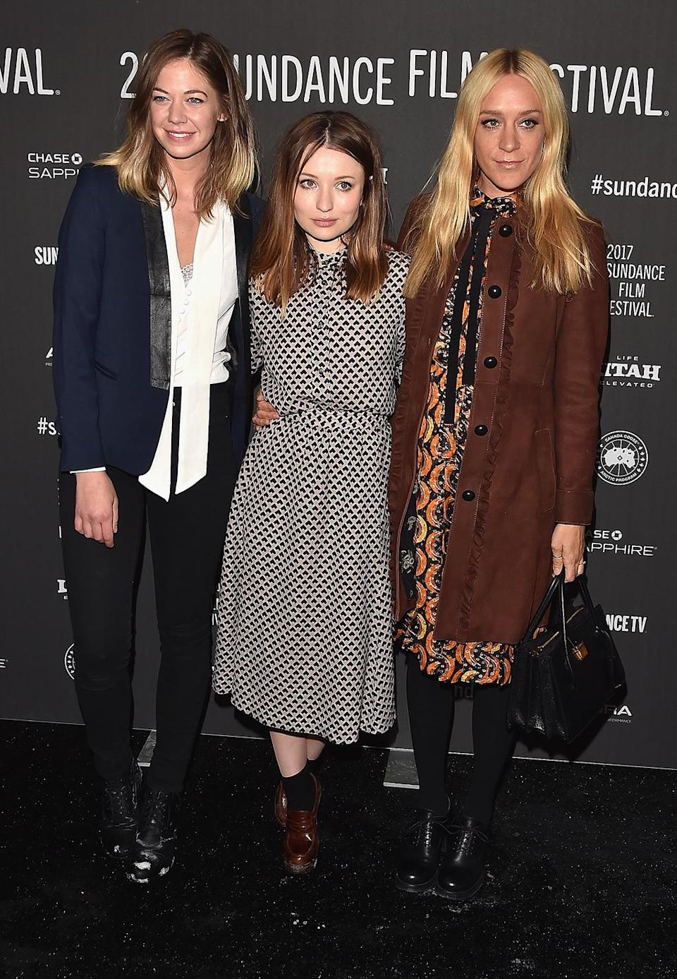 <p>The stars arrive for the 'Golden Exits' premiere on Jan. 2. (Photo: Alberto E. Rodriguez/Getty Images) </p>