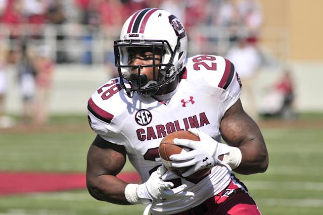 Steve Spurrier says RB Mike Davis should be '100 percent' for Texas A&M game