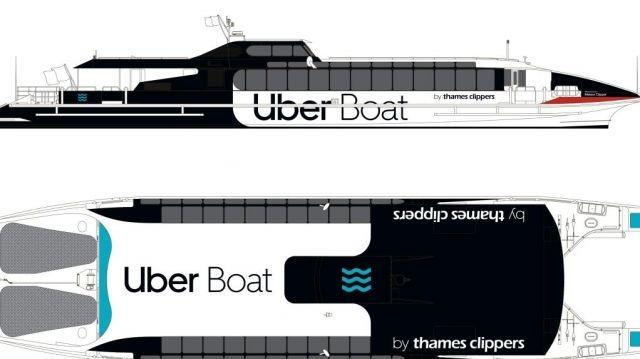 Thames Clippers to be rebranded as Uber Boat later this summer