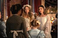 "<p>The wait is almost over, Emisue shippers: Apple's innovative comedy about a young Emily Dickinson returns this winter. Hailee Steinfeld reprises her title role in the sophomore season, which will apparently focus on Dickinson's ""deeply ambivalent relationship to fame."" Showrunner Alena Smith has also described the new season as being, in part, <a href=""https://www.elle.com/culture/movies-tv/a30169643/dickinson-season-2-news-date-cast-spoilers/"" rel=""nofollow noopener"" target=""_blank"" data-ylk=""slk:a dramatic adaptation of Dickinson's poetry"" class=""link rapid-noclick-resp"">a dramatic adaptation of Dickinson's poetry</a>, which has us very intrigued.</p><p><a class=""link rapid-noclick-resp"" href=""https://tv.apple.com/us/show/dickinson/umc.cmc.1ogyy5s2agasxa5qztabrlykn"" rel=""nofollow noopener"" target=""_blank"" data-ylk=""slk:Watch on Apple TV+"">Watch on Apple TV+</a></p>"