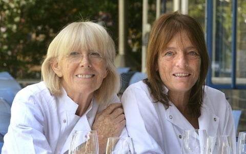 Rose Gray, left, and Ruth Rogers, co-founders of The River Cafe - Credit: Martin Pope
