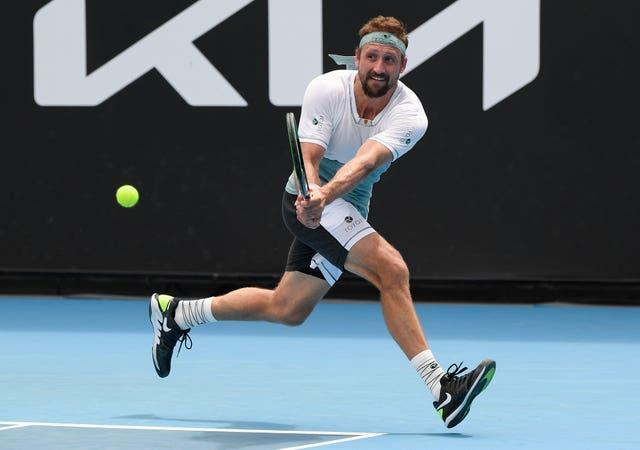 Tennys Sandgren put 14 days of quarantine behind him with an opening victory