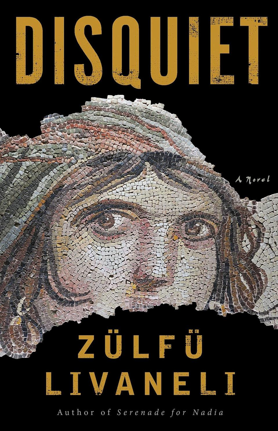 <p><span><strong>Disquiet</strong></span> by Zülfü Livaneli is a moving novel set entirely in the modern day Middle East. The story focuses on Meleknaz, a Yazidi Syrian refugee, and Hussein, whose passion for helping others leads to him falling in love with Meleknaz, much to his family's disapproval. </p> <p><em>Out June 29</em></p>