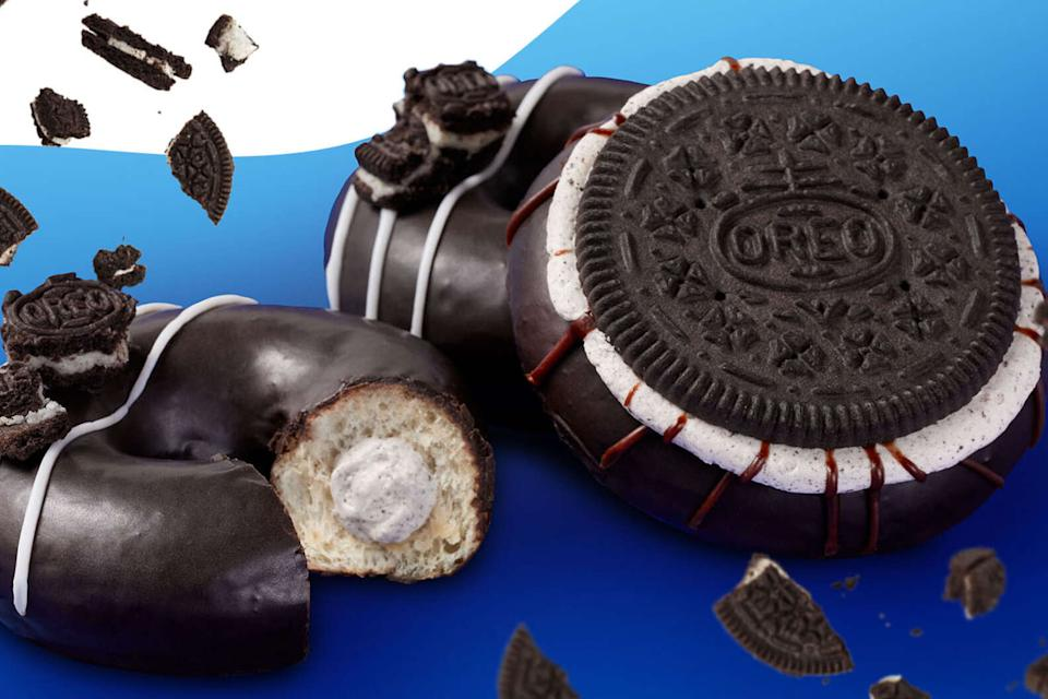 Krispy Kreme's new doughnut collaboration with Oreo (Courtesy: Krispy Kreme)