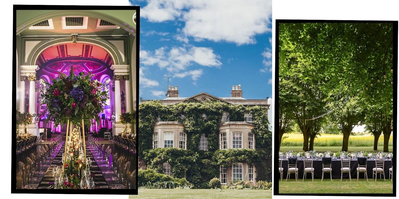 """<p>Choosing a <a href=""""https://www.elle.com/uk/wedding/"""" target=""""_blank"""">wedding</a> venue for your big day can be one of the most stressful yet crucial decisions of your 'wedmin'.</p><p>From barn conversions, Grade II-listed properties, farmhouses and <a href=""""https://www.elle.com/uk/life-and-culture/travel/g23050000/the-best-luxury-london-hotels/"""" target=""""_blank"""">hotels</a>, the UK has thousands of wedding venues to pick from, making finalising your list of possible destinations for your nuptials all the more challenging.</p><p>Additionally, some wedding venues come with wedding planners, dry hire fees, accommodation, weekend packages, linen hire (yes, that's a thing) and menu tasting, which makes choosing your <a href=""""https://www.elle.com/uk/life-and-culture/culture/g30428669/wedding-flowers-london/"""" target=""""_blank"""">wedding flowers</a>, <a href=""""https://www.elle.com/uk/life-and-culture/wedding/g31258699/wedding-photography/"""" target=""""_blank"""">wedding photographer</a> and <a href=""""https://www.elle.com/uk/fashion/what-to-wear/articles/g31653/modern-spring-wedding-dresses/"""" target=""""_blank"""">wedding dress</a> a piece of cake in the grand scheme of things.</p><p>That's why we've compiled an in-depth list of the most stylish wedding venues in the UK, no matter the religion, culture, style or party size you wish to cater for.</p><p><strong>Here is a list of the top 26 wedding venues in the UK you need to know before saying 'I do':</strong></p>"""