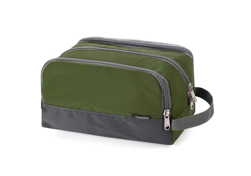Nylon Toiletry Bag. (Photo: Amazon)