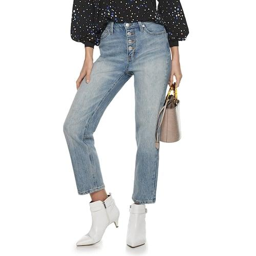 "<p><a href=""https://www.popsugar.com/buy/POPSUGAR-High-Rise-Straight-Jeans-538688?p_name=POPSUGAR%20High%20Rise%20Straight%20Jeans&retailer=kohls.com&pid=538688&price=25&evar1=fab%3Aus&evar9=47089521&evar98=https%3A%2F%2Fwww.popsugar.com%2Ffashion%2Fphoto-gallery%2F47089521%2Fimage%2F47089803%2FPOPSUGAR-High-Rise-Straight-Jeans&prop13=mobile&pdata=1"" rel=""nofollow"" data-shoppable-link=""1"" target=""_blank"" class=""ga-track"" data-ga-category=""Related"" data-ga-label=""https://www.kohls.com/product/prd-3944109/womens-popsugar-high-rise-straight-jeans.jsp?prdPV=4"" data-ga-action=""In-Line Links"">POPSUGAR High Rise Straight Jeans</a> ($25, originally $50)</p>"