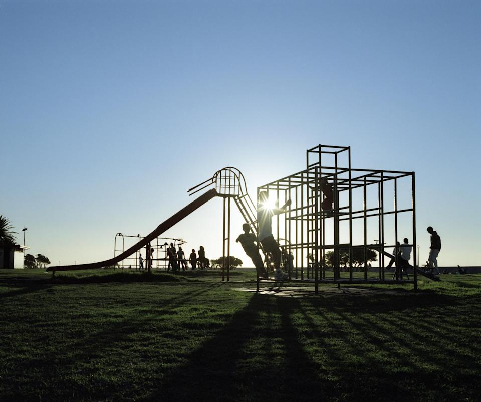 Adventure playgrounds in the UK are under threat (Picture: Getty)