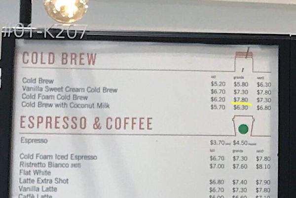 Starbucks Coffee Prices In Singapore Are They The Same