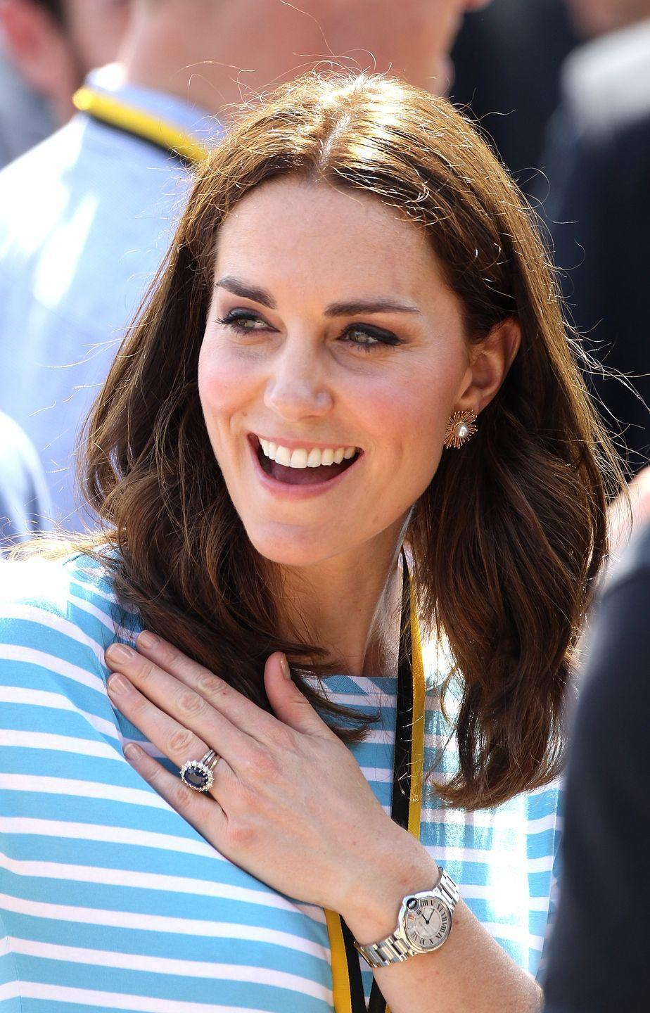 <p>What's more ~au naturel~ than no nail polish at all?! At times, you'll see the royals sporting bare nails, but they're still *impeccably* groomed. </p>