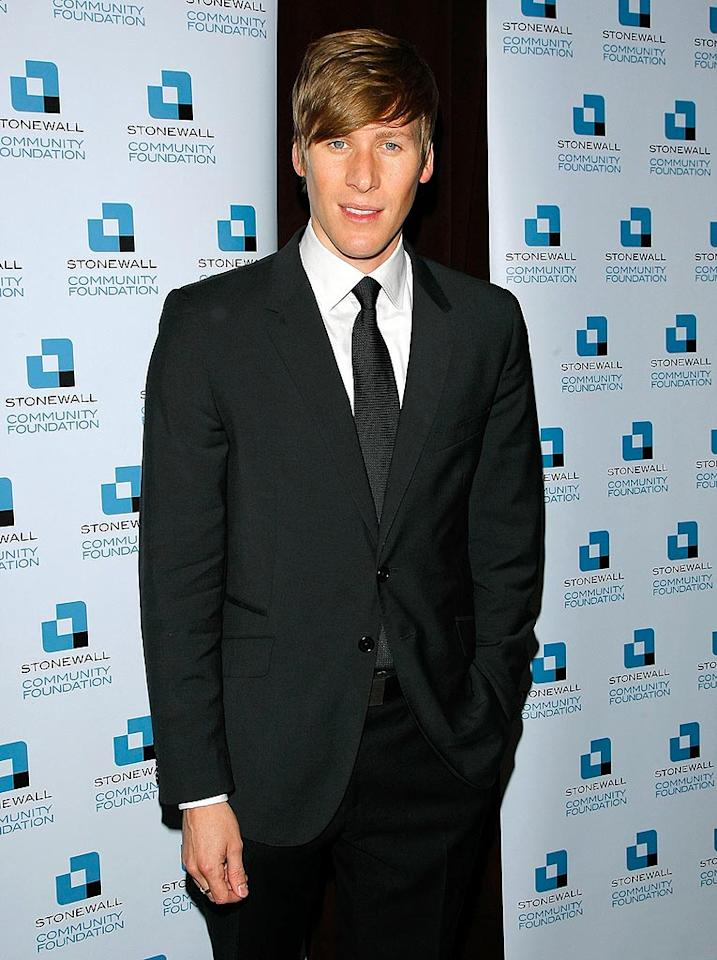 "At the 81st Academy Awards, Dustin Lance Black won the Oscar for Best Original Screenplay for ""Milk,"" the autobiographical film based on politician and gay rights activist Harvey Milk. Jemal Countess/<a href=""http://www.wireimage.com"" target=""new"">WireImage.com</a> - June 17, 2009"