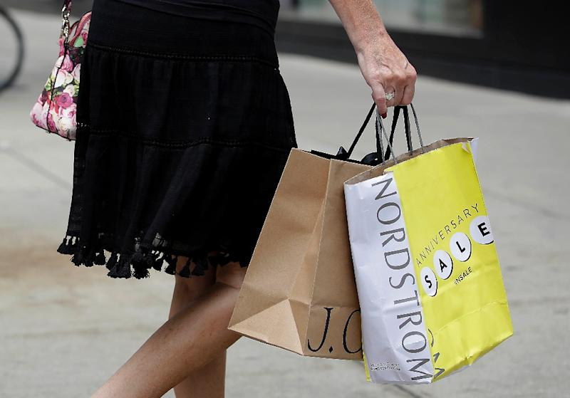 American shoppers were a little more willing to spend in the first month of the year, especially on building supplies and sporting goods, after a bleak December