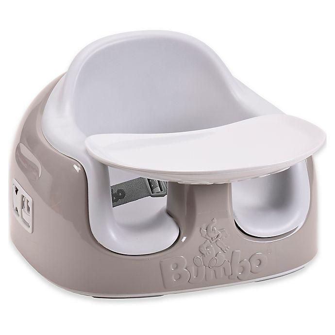 """<p><strong>Bumbo</strong></p><p>buybuybaby.com</p><p><strong>$49.99</strong></p><p><a href=""""https://go.redirectingat.com?id=74968X1596630&url=https%3A%2F%2Fwww.buybuybaby.com%2Fstore%2Fproduct%2Fbumbo-reg-3-in-1-multi-seat-in-beige-cool-grey%2F5017229&sref=https%3A%2F%2Fwww.bestproducts.com%2Fparenting%2Fbaby%2Fg113%2Fbaby-floor-seats-sitting-up%2F"""" rel=""""nofollow noopener"""" target=""""_blank"""" data-ylk=""""slk:Shop Now"""" class=""""link rapid-noclick-resp"""">Shop Now</a></p><p>Your baby will sit in style in this modern seat from Bumbo. This model is a slightly upgraded version of the Bumbo earlier on this list. The seat has adjustable height positions for ease of use, and it's really easy to maneuver. The tray comes off easily so it can be used as a booster for older kids. You will get tons of mileage out of this one seat.</p>"""