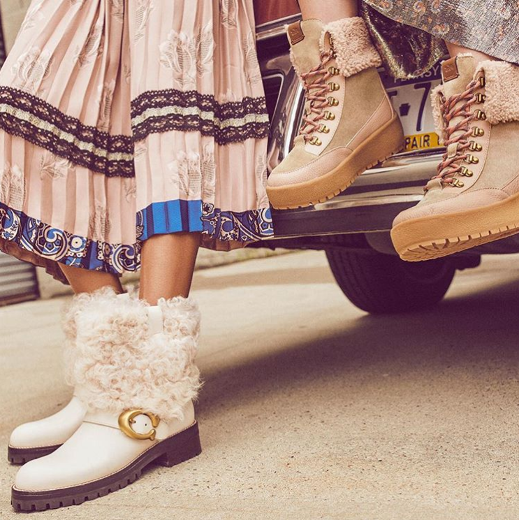 Save 50 percent on Coach boots, shoes and more (Photo: Instagram/Coach)