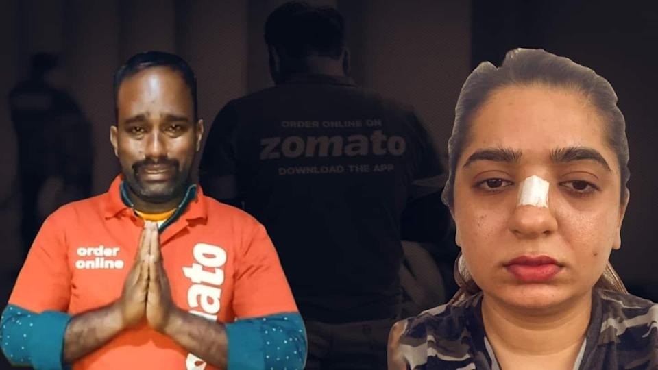 Zomato fiasco: Bengaluru-based influencer booked for assaulting delivery man
