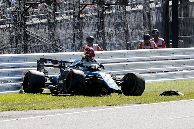Kubica gets new chassis after qualifying crash