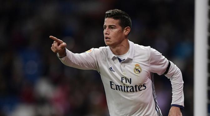 James Rodriguez diambang pintu keluar Real Madrid.