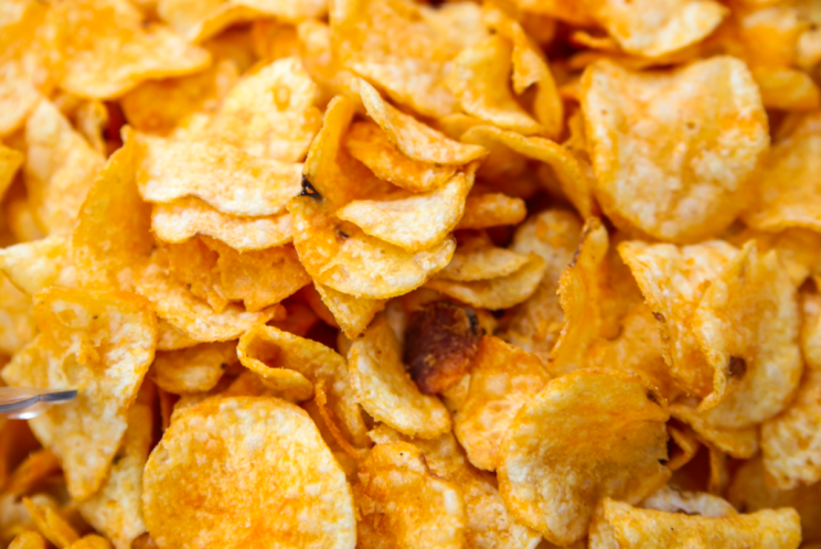 Dangerous? Crisps appear to have the highest levels of acrylamide (Rex)