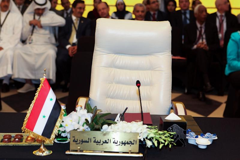 Syria was a founding member of the Arab League