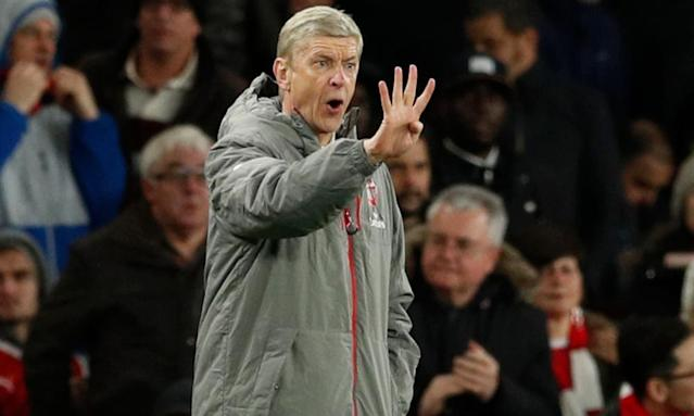 "<span class=""element-image__caption"">Arsène Wenger's chances of a Champions League place have revived, but qualifying would still leave them back where they started.</span> <span class=""element-image__credit"">Photograph: John Sibley/Reuters</span>"