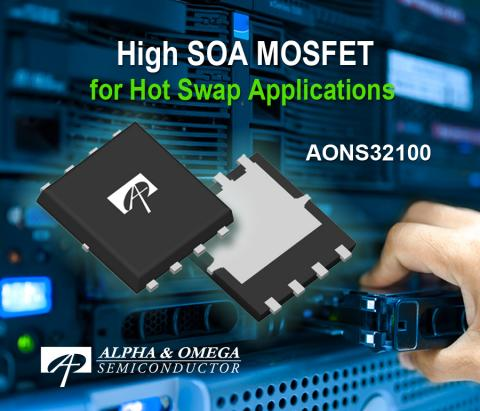 Alpha and Omega Semiconductor Introduces a High SOA MOSFET for Hot