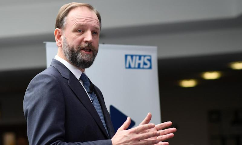 Simon Stevens head of NHS England
