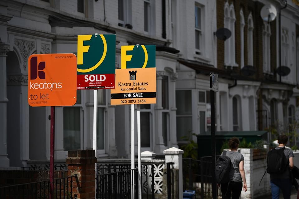 Stamp duty holiday has contributed in rising number of people looking to buy homes. Photo: Daniel Leal-Olivas/AFP via Getty Images