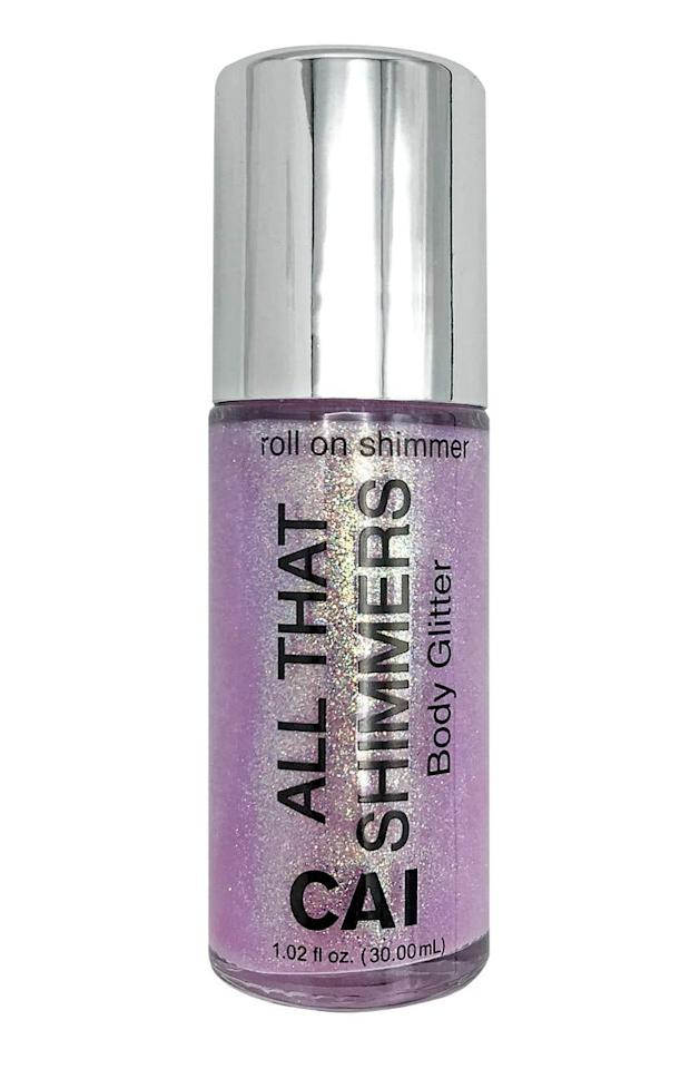 """<p>Bring on the <a href=""""https://www.popsugar.com/buy/Roll--Body-Glitter-528573?p_name=Roll-On%20Body%20Glitter&retailer=amazon.com&pid=528573&price=8&evar1=tres%3Aus&evar9=20734379&evar98=https%3A%2F%2Fwww.popsugar.com%2Flove%2Fphoto-gallery%2F20734379%2Fimage%2F26203078%2FRoll--Body-Glitter&list1=gifts%2Choliday%2Cwomen%2Cstocking%20stuffers%2Cgift%20guide%2Ceditors%20pick%2Cnostalgia%2Cthe%2090s%2Choliday%20living%2Cgifts%20for%20women&prop13=api&pdata=1"""" rel=""""nofollow"""" data-shoppable-link=""""1"""" target=""""_blank"""" class=""""ga-track"""" data-ga-category=""""Related"""" data-ga-label=""""https://www.amazon.com/Glitter-Shimmer-Holographic-Cosmetic-Platinum/dp/B07J1N52R8"""" data-ga-action=""""In-Line Links"""">Roll-On Body Glitter</a> ($8); you can never be too sparkly. </p>"""
