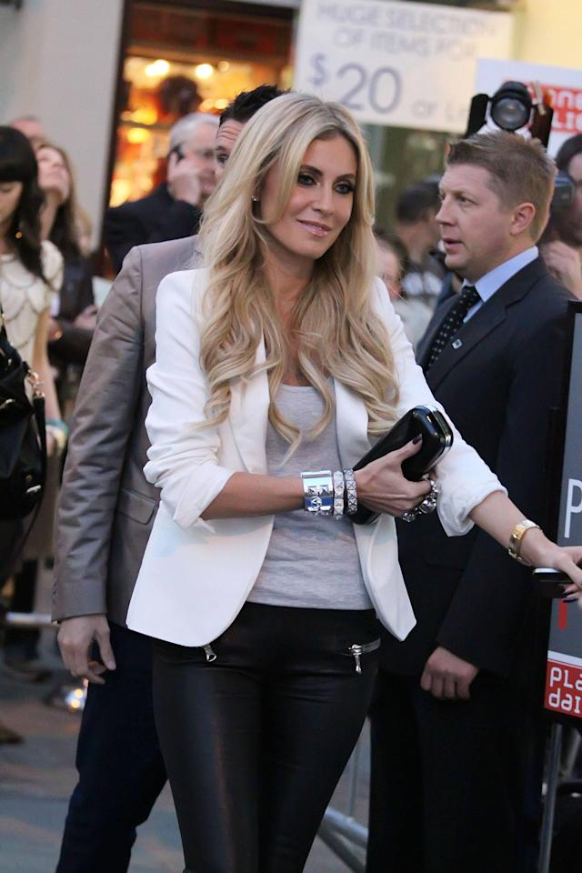 Claudine Keane arriving at Jennifer Lopez's new restaurant at The Grove  Los Angeles, California - 05.04.12 Mandatory Credit: WENN.com