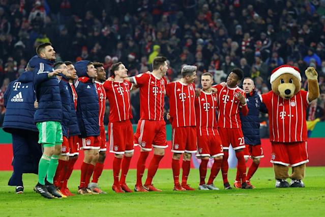 Bayern Munich host Besiktas in the last 16, first leg of the Champions League riding a 13-match winning streak under Jupp Heynckes, the architect behind the revival of his 2013 treble-winning heroes.