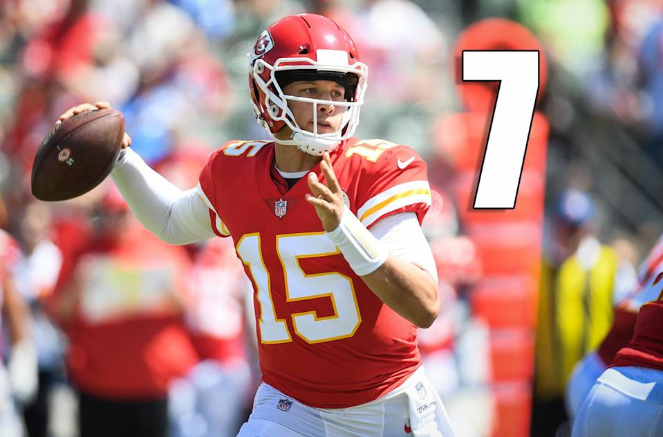 <p>Think about this: Sammy Watkins, Kareem Hunt and Travis Kelce did practically nothing and the Chiefs put up 38 points on a good (maybe?) Chargers defense. (Patrick Mahomes) </p>