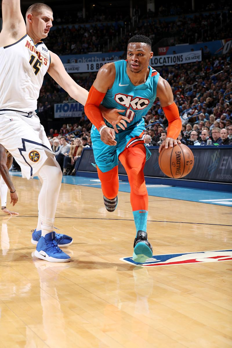 Murray leads Nuggets past Thunder, 105-98