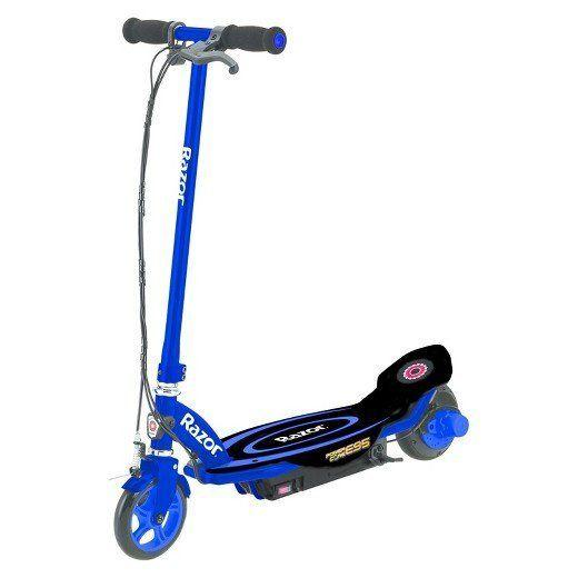 "Full price: $120<br /><a href=""https://www.target.com/p/razor-174-power-core-e95-153-electric-scooter-blue/-/A-52514643?clkid=40ecd019N8ea6360d5a5d75a152c3b9aa&lnm=81938"" target=""_blank"">Sale price: $85</a>"
