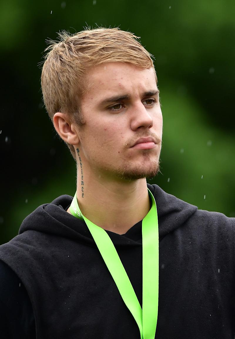 A little over a year later, Bieber shifted his attention to his facial hair.