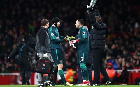 Ospina replaces Cech against Everton - Credit: getty images