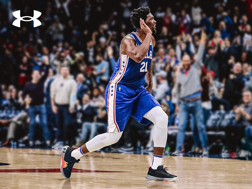 Joel Embiid's inaugural sneaker pays homage to the Sixers star's Cameroonian roots